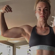 Teen muscle girl Fitness girl Elaraine