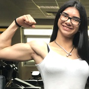 Teen muscle girl Fitness girl Elis