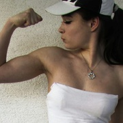 Teen muscle girl Fitness girl Klara