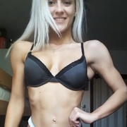 17 years old Fitness girl Alena Posing